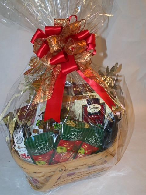 Autumn splendor in a basket