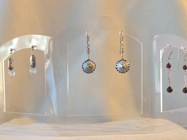 image of three pairs of earrings