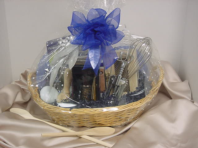 picture of cooking gift basket - Kitchen Gift Basket Ideas